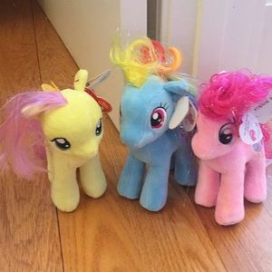 Other - My little pony beanie babies